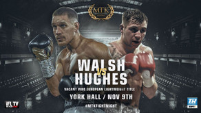 LIAM WALSH RETURNS AS MTK HOST YORK HALL TAKEOVER