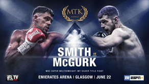 ALL-SCOTTISH TITLE BOUT ON GLASGOW'S ESPN+ SHOW