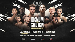 MTK Fight Night April 17th - Fight Card Preview