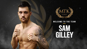 SAM GILLEY LOOKS TO SHINE IN FIRST FIGHT WITH MTK GLOBAL