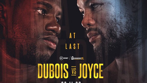 Dubois & Joyce Look To Seek And Destroy At Last - Fight Preview