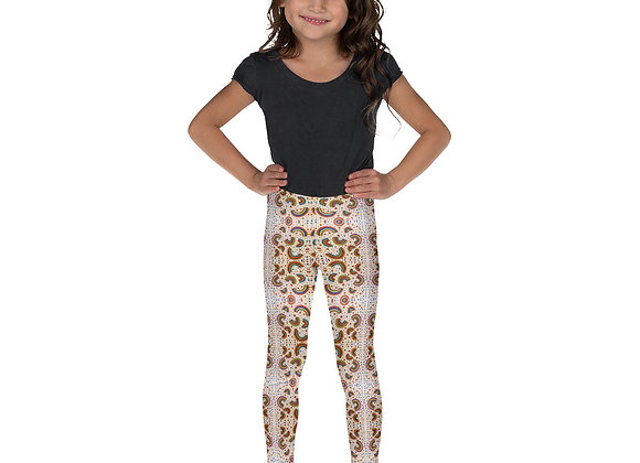 Kid's Rainbow Polka Dot Leggings