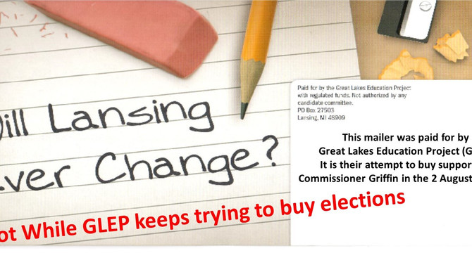 GLEP - Buying Your Vote.