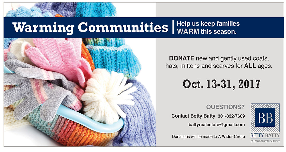 Join us! And let us know if you need us to pick up your donations.