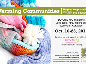 Join us and keep families warm this season!