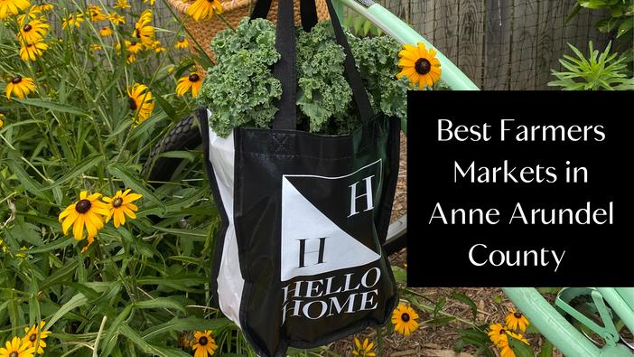 Best Farmers Markets in Anne Arundel County