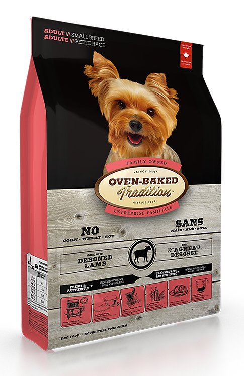 ADULT DOG FOOD FOR SMALL BREEDS- LAMB