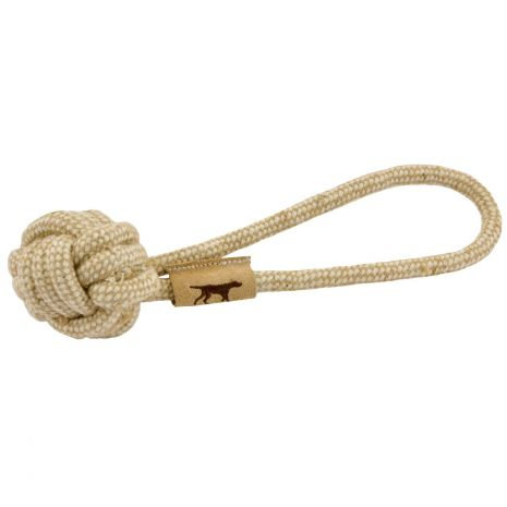 NATURAL COTTON & JUTE TUG TOY
