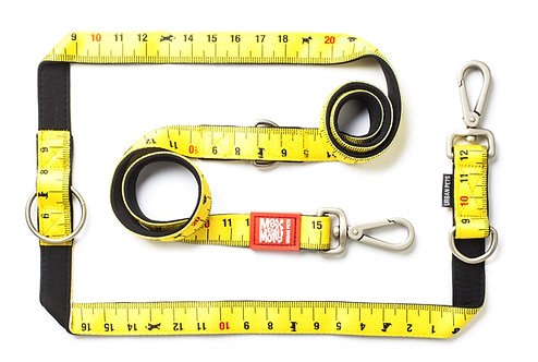 Max & Molly Multi-Function Leash -  Ruler