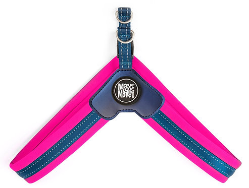 Max & Molly Q-FIT Harness Pink