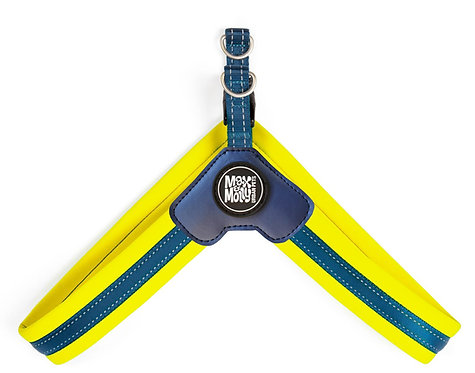 Max & Molly Q-FIT Harness Yellow