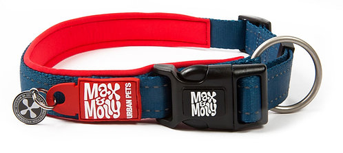 Max & Molly SMART ID MATRIX COLLAR - Red
