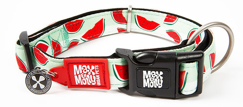 Max & Molly SMART ID COLLAR - Watermelon