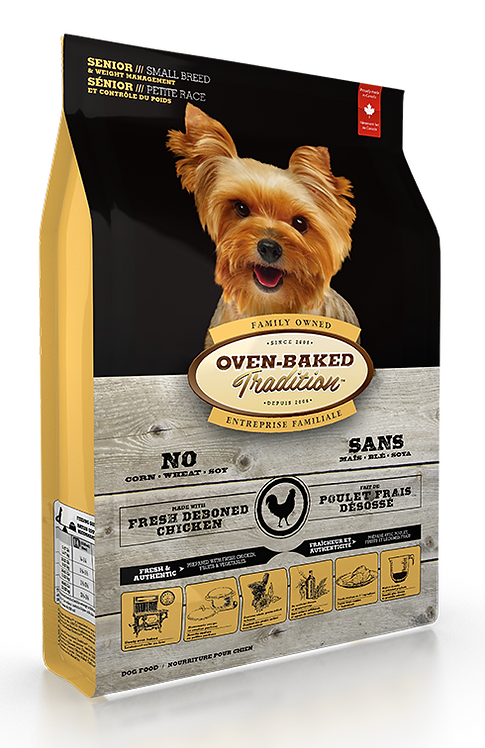 SENIOR DOG FOOD & WEIGHT MANAGEMENT FOR SMALL BREEDS- CHICKEN