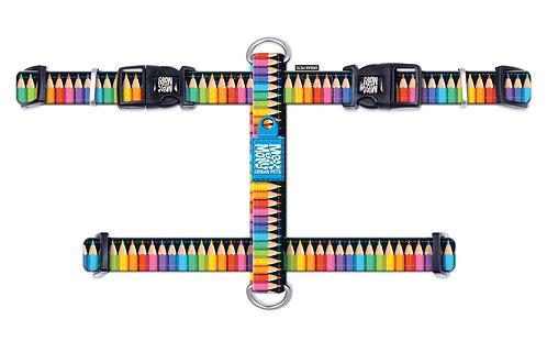 Max & Molly H-Harness - Crayons