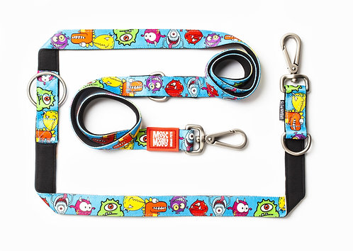 Max & Molly Multi-Function Leash -  Little Monsters