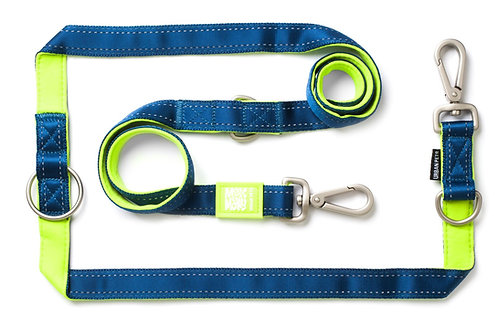Max & Molly MULTI FUNCTION LEASH - MATRIX Lime Green