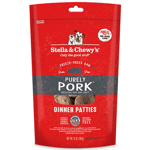 Purely Pork Freeze-Dried Raw Dinner Patties