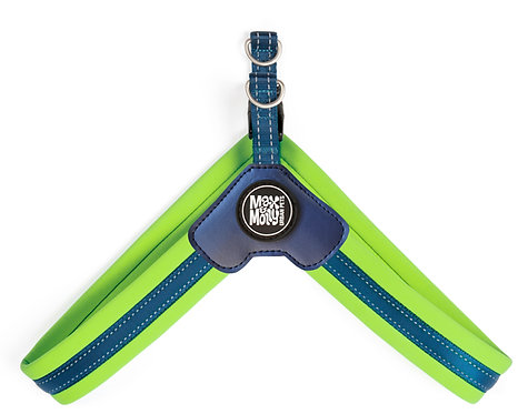 Max & Molly Q-FIT Harness Lime Green