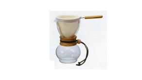濾布欖橄木手沖咖啡壺 DPW-1-OV