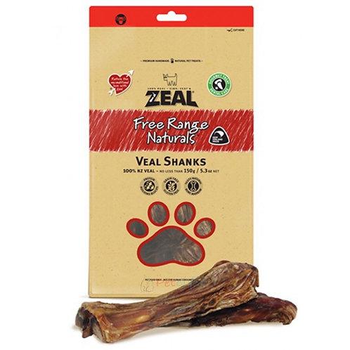 Zeal Free Range Naturals Veal Shanks Dog Treats