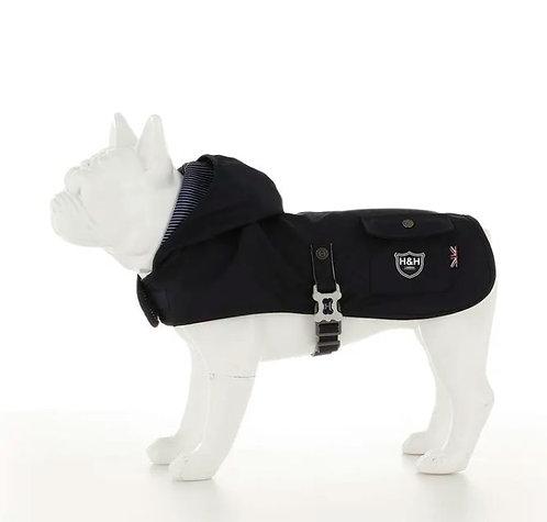Hugo & Hudson Blue Dog Rain Coat