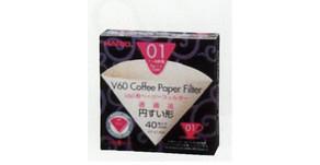 V60 濾紙 VCF-01-40M