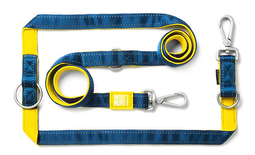 Max & Molly MULTI FUNCTION LEASH - MATRIX Yellow