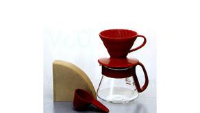 V60 陶瓷濾杯咖啡壺組 VDS-3012R