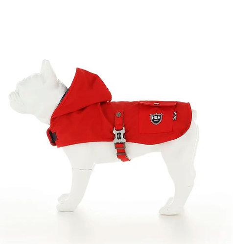 Hugo & Hudson Red Dog Rain Coat