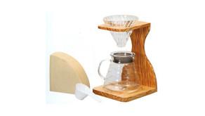 V60 濾杯木材質杯架組 VAS-1206-OV