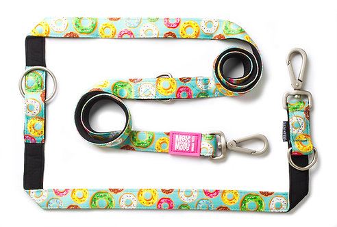 Max & Molly Multi-Function Leash -  Donuts