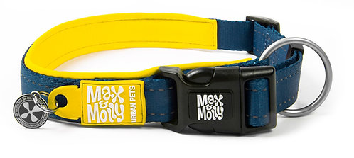 Max & Molly SMART ID MATRIX COLLAR - Yellow