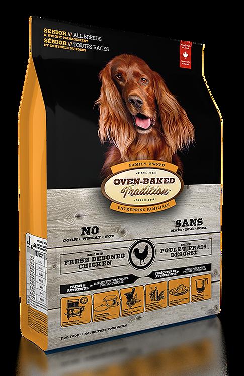 SENIOR DOG FOOD & WEIGHT MANAGEMENT FOR ALL BREEDS – CHICKEN