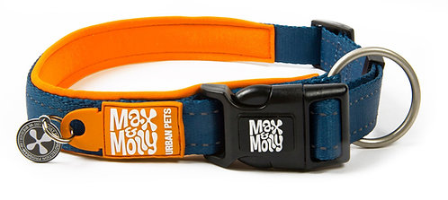 Max & Molly SMART ID MATRIX COLLAR - Orange