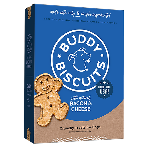 Buddy Biscuits Whole Grain Bacon & Cheese
