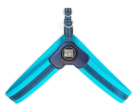 Max & Molly Q-FIT Harness Sky Blue