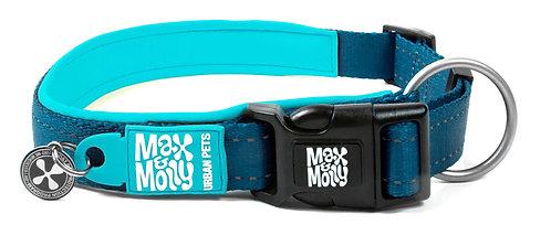 Max & Molly SMART ID MATRIX COLLAR - Sky Blue