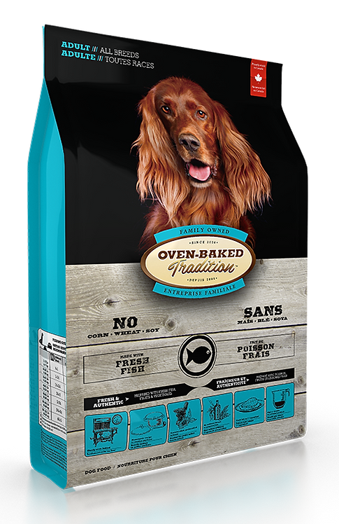 ADULT DOG FOOD FOR ALL BREEDS- FISH