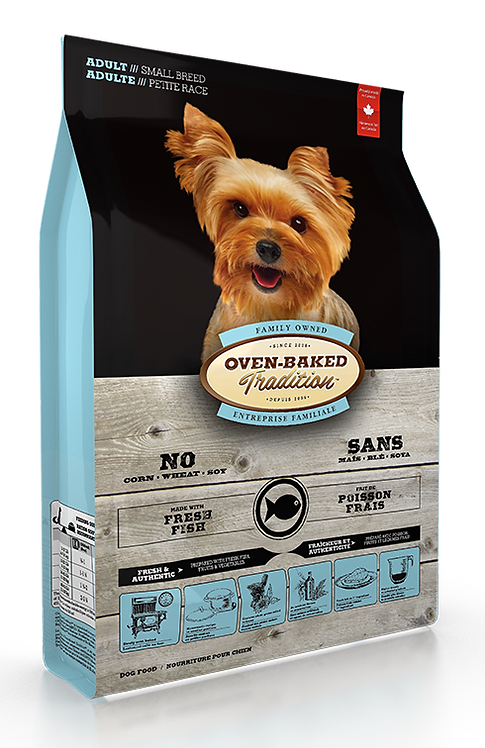 ADULT DOG FOOD FOR SMALL BREEDS – FISH