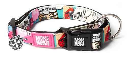 Max & Molly SMART ID COLLAR - Miss Pop