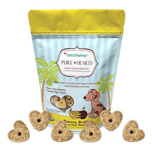Pure Hearts Coconut Cookies Banana Brulée