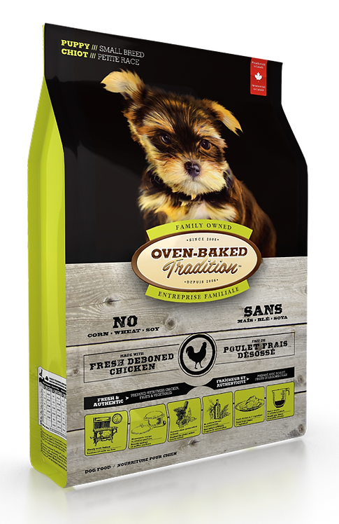 PUPPY FOOD FOR SMALL BREEDS – CHICKEN