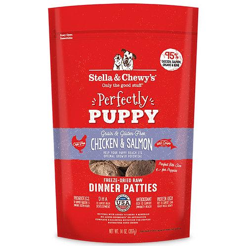 Chicken & Salmon Puppy Patties