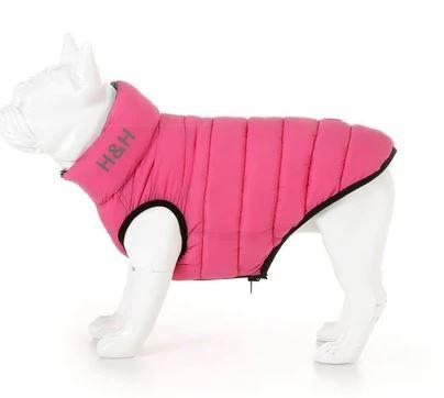 Pink & Grey Puffer Jacket