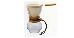 濾布欖橄木手沖咖啡壺 DPW-3-OV