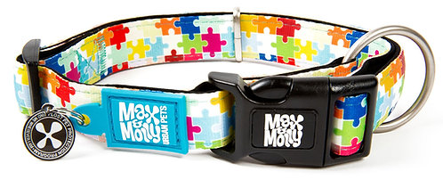 Max & Molly SMART ID COLLAR - Puzzle