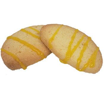 Butter Snaps w/lemon drizzle