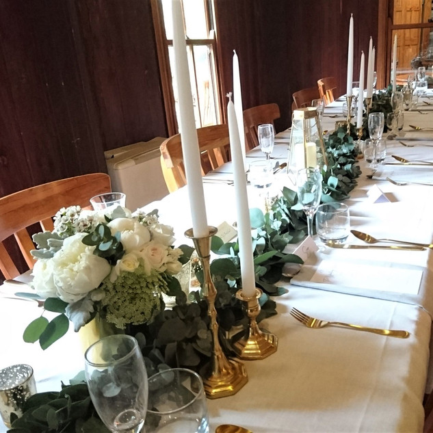 Blue Mountains Wedding Flowers Reception
