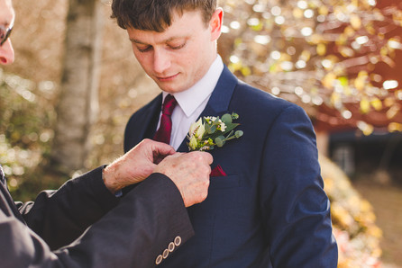 Groom's Wildflower Boutonniere